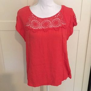 Blouse with Crochet Details